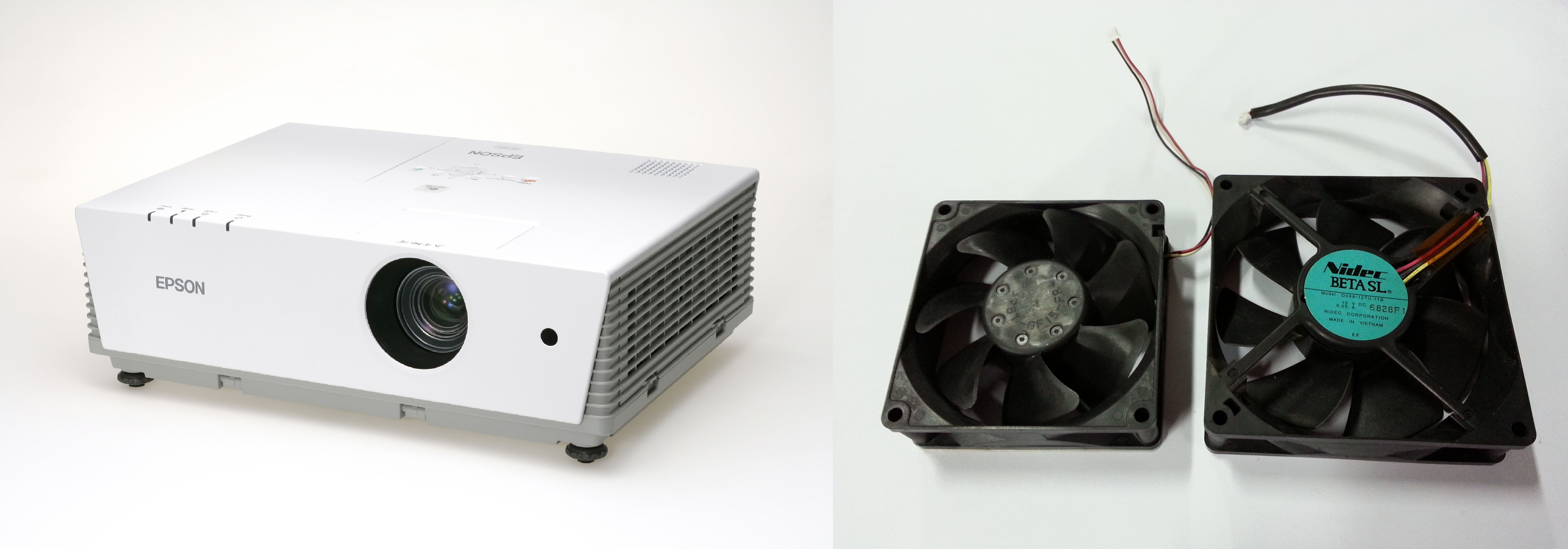 Interesting Small Square Fan 6100 Projector Big And Spare Throughout Design Decorating